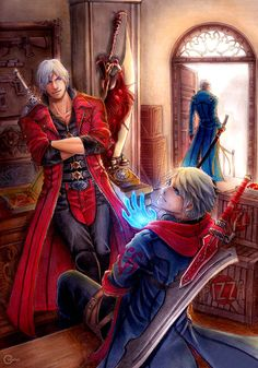 Instagram  A Fanart of Devil May Cry game