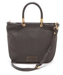 marc jacobs too hot to handle tote in faded aluminum - my newest addition <3