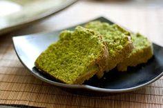 Matcha Green Tea Pound Cake japanese desert recipe