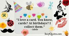 Birthday Quote - Adele