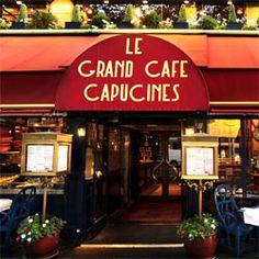 Restaurant  Le Grand Café Capucines, Paris 9e. Among the best Parisian brasseries!  #famfinder