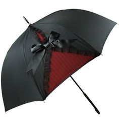 Gothic victorian styled umbrella with UV Protection. It can serve as a sun blocking parasol and a waterproof umbrella.