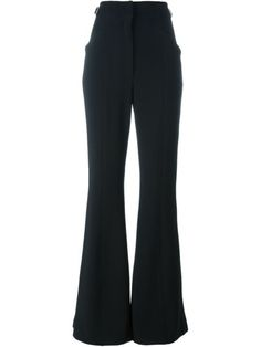 Shop Proenza Schouler flared trousers  in Hu's Wear & Hu's Shoes from the world's best independent boutiques at farfetch.com. Shop 400 boutiques at one address.