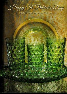 Fostoria Glassware, Fostoria American, Cut Glass, Milk Glass, Depression, Painting, Art, Art Background, Painting Art