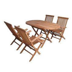 Τραπεζαρία ξύλινη teak σετ 5τεμ Outdoor Furniture Sets, Outdoor Decor, Teak, Home Decor, Decoration Home, Room Decor, Home Interior Design, Home Decoration, Interior Design