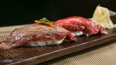 Sushi (C h r i s   ~ T a n / Singapore / SGnthd) #Canon EOS 5D Mark III #food #photo #delicious