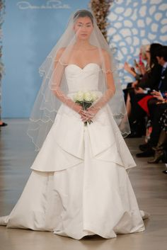 See All 168 Gorgeous Gowns From Bridal Fashion Week Spring 14: Oscar de la Renta Spring 2014 : Oscar de la Renta Spring 2014