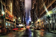 Mdnight on 47th street in World Tour: New York Photography