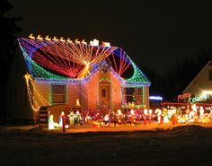 Crazy Christmas Lights: 15 Extremely Over-the-Top Outdoor Displays | Brit + Co