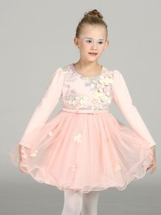 59.94$  Watch now - http://alis88.worldwells.pw/go.php?t=32725302989 - 2016 new children dress girls fashion pearl lace butterfly flower girl dress baby  dresses elegant dress size 100-140 59.94$