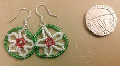 Tiny 925 silver earrings £4.00