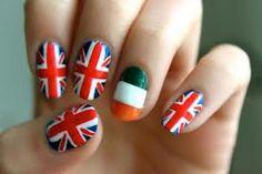 British and Irish flags