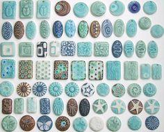 365 Day 218 | Beeeeeeeg batch of porcelain pendants! | Lisa Stevens | Flickr