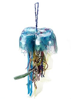 Jellyfish Sculpture lesson plan - Recycled artwork ;-)