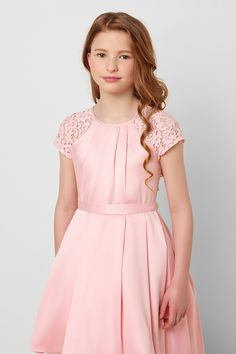 Paisley of London Girls Pink Party Dress Girls Dresses Tween, Pink Flower Girl Dresses, Stylish Dresses For Girls, Preteen Girls Fashion, Cute Girl Dresses, Little Girl Dresses, Dresses For Teens, Pretty Dresses, Cute Girl Outfits