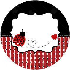 Baby Ladybug, Ladybug Party, Little Girl Cartoon, Decoupage, San Antonio, Bottle Cap Images, Class Decoration, Binder Covers, Love Bugs