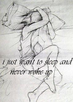 so sad people live this way everyday :( keep waking up ..theres help...  yep i want to do that