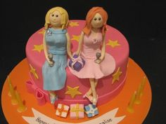 Mother and Daughter Cake by phillipascakes, via Flickr