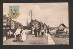 Weymouth Parade - printed postcard