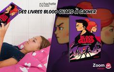 A Gagner : Blood Guard un roman d'aventure et d'espionnage !