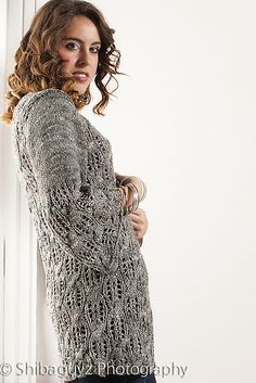 Ravelry: Larissa knit pattern by Shannon Mullett-Bowlsby from Moonstruck collection