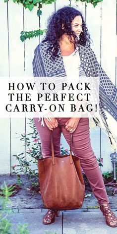 """I travel a lot, which means I'm a pro at packing! I'm a BIG fan of being *over* prepared and always pack with the thought of, """"you never know what could happen"""". My same packing rules apply whether I'm..."""