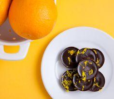 Vegan 3-Ingredient Orange Dark Chocolate