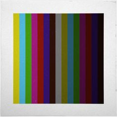 #455 Test pattern – A new minimal geometric composition each day