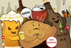 Các loại thuốc giải độc gan sẽ không tiêu hết độc khi bạn uống qua nhiều bia rượu