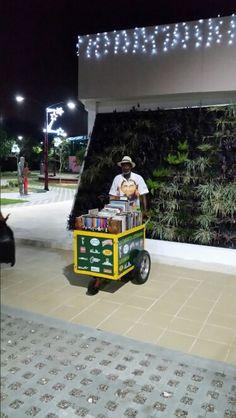 La carreta del parque Espíritu del Manglar, Cartagena de Indias Colombia.