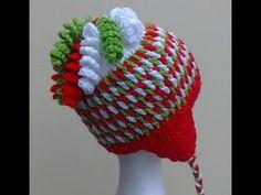 ▶ Gum Drops Hat Crochet Video Tutorial by Bobwilson123 on YouTube. Free pattern by My Hobby is Crochet.
