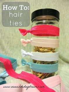 Make Your Own Hair Ties