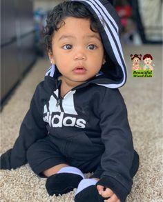 D'ior Griffin – 7 mois Cute Mixed Babies, Cute Black Babies, Black Baby Girls, Beautiful Black Babies, Beautiful Children, Cute Babies, Mixed Baby Boy, Mix Baby Girl, Cute Baby Boy