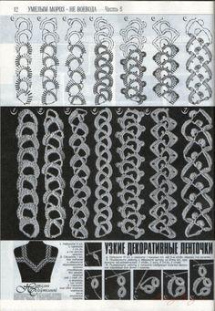 Gallery.ru / Фото #1 - Ажурные пояски, тесьма и шнуры - Alleta...belts,braids,and ties!!