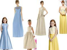 mini me flowergirl dresses
