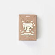 """다음 @Behance 프로젝트 확인: """"PEACOCK RICH MILK TEA Packaging"""" https://www.behance.net/gallery/36282493/PEACOCK-RICH-MILK-TEA-Packaging"""