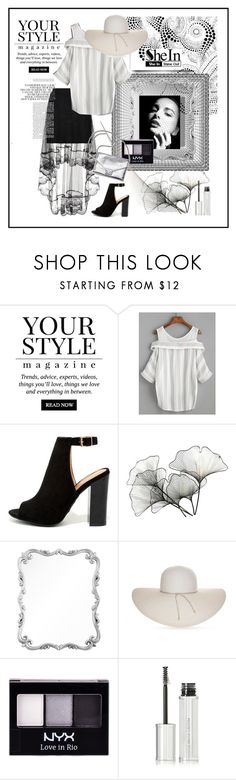"""""""Elegant And Sexy"""" by ul-inn ❤ liked on Polyvore featuring Pussycat, WithChic, Bamboo, River Cottage Gardens, Mirror Image Home, Nine West, NYX, Loeffler Randall and Givenchy"""