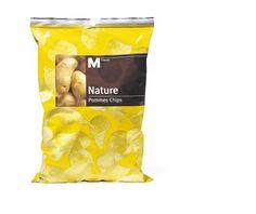Bild von M-Classic Nature Pommes Chips Snacks, Snack Recipes, Chips, Drinks, Classic, Nature, Food, Salt, Foods