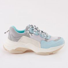 purchase cheap 6eab7 72cba Amfo Chunky Trainers in Blue