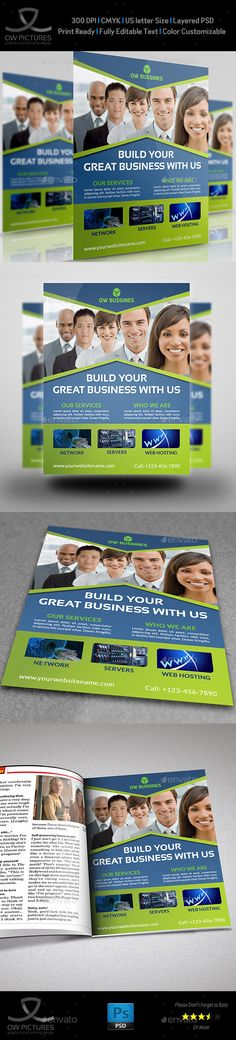 Corporate Business Flyer Template Vol.17