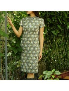 #276407 #AnnularRings #Qipao #Cheongsam - Girl Cheongsam Art Dresses with Blue and Pink Floral Pattern - modern cheongsam dresses,  hot cheongsam,  green cheongsam,  cotton cheongsam,  satin cheongsam,  wedding cheongsam singapore,  mens cheongsam,  cheongsam pattern free,  chinese wedding cheongsam,  chinese cheongsam wedding,  traditional chinese cheongsam,  shanghai tang cheongsam,  cheongsam fabric,  cheongsam shirt,