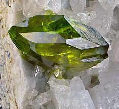 Titanite on Albite Haramosh Mountains, Pakistan