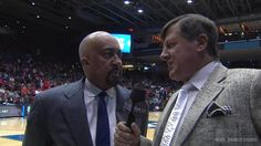 Check out Sager's tie (on the right). Dope! March Madness, indeed!