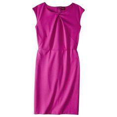 Merona® Women's Ponte Crossover Neckline Dress - Assorted Colors
