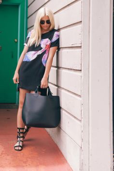 Stone Fox Style in LE TOTE's Style Stalker dress!