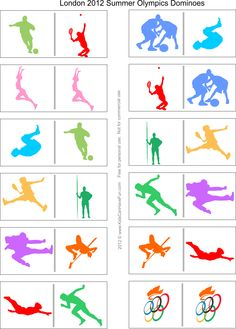 Cut And Paste Ice Skating Worksheets