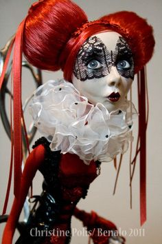 Artist: Christine Polis (Dolls & Stop Motion Puppets). Just Beautiful!