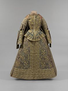 Ensemble 1575, Spanish, Made of silk and linen
