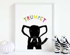 Printable wall art for kids big and small by YoYoStudio on Etsy