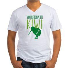 Mens V-Neck T-Shirt on CafePress.com